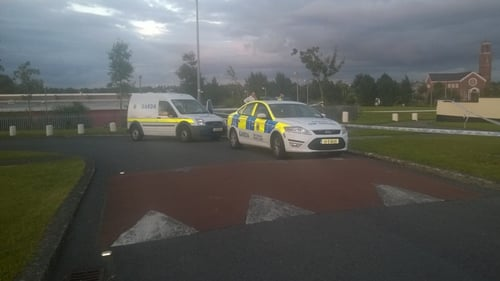 The shooting happened in the Green Hills area of Athy, Co Kildare
