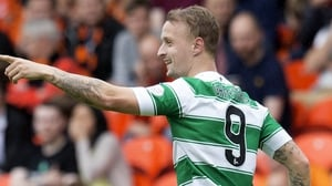 Leigh Griffiths opened the scoring as Celtic eased past Dundee United