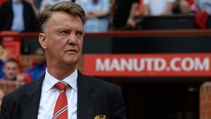 Louis Van Gaal refused to discuss the report linking United with Neymar