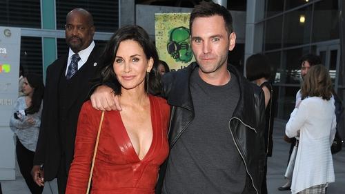 Courtney Cox and fiancé Johnny McDaid