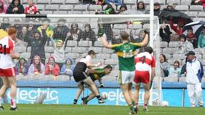 Michael Foley's goal set the Kingom on their way