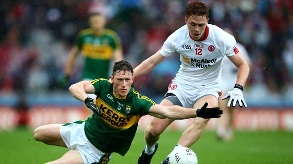 Kerry got the better of Tyrone by four points
