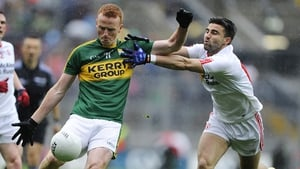 Johnny Buckley got enough room to fire over four of Kerry's points