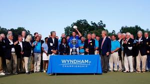 Davis Love III first won the Wyndham Championship in 1992
