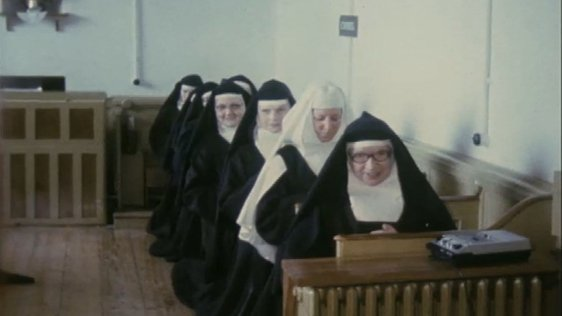 Carmelite nuns at Loughrea 1980