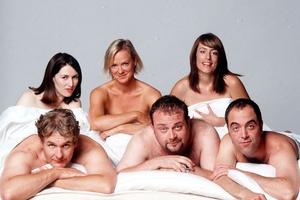 Cold Feet gang are back - minus Rachel (Helen Baxendal, top left)