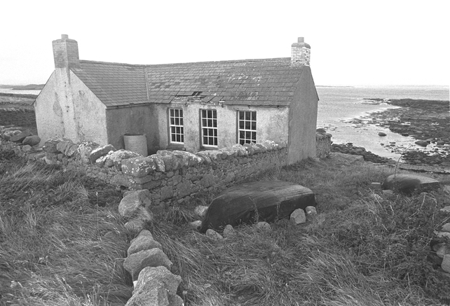 Abandoned Schoolhouse on Gola Island 1969