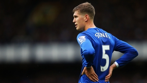 Stones was included as part of City's squad even though his move from Merseyside had yet to be announced