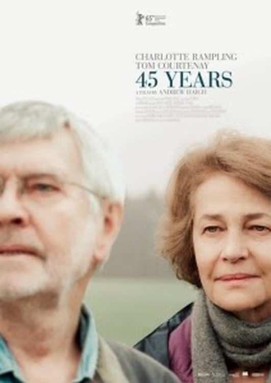 "Charlotte Rampling and Tom Courtenay, stars of ""45 Years"""