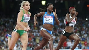 Kelly Proper was close to her season's best in the 200 metres, but missed out on qualification