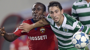 Seydou Doumbia struck twice as CSKA Moscow reached the group stages of the Champions League