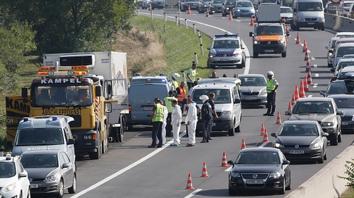 Over 70 bodies recovered from truck in Austria