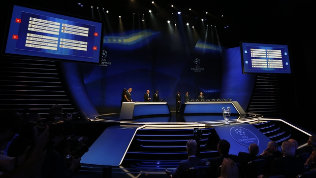 Mixed draw for English sides in Champions League