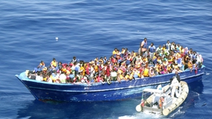 Libya is the main departure point for migrants hoping to reach Europe by sea (File pic)