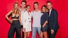 Rita, Nick, Cheryl, Simon, Caroline and Olly