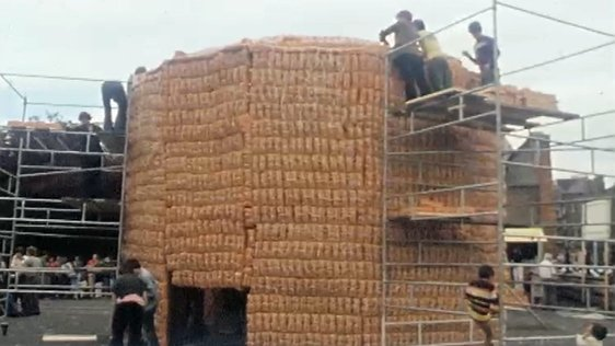 Martello Tower of Bread