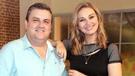 Simon Delaney and Saturday: AM co-presenter Anna Daly