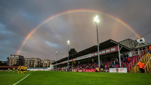 There's no television pot of gold in the League of Ireland when compared to the English Premier League