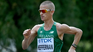 Rob Heffernan finished 28th in the 20km walk in his first Olympic Games in 2000