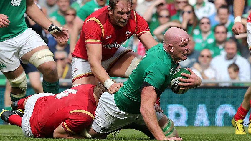 International Rugby Friendly: Ireland v Wales