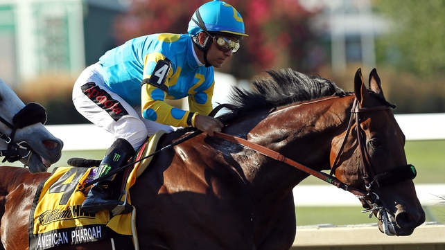 American Pharoah to race on with Classic goal