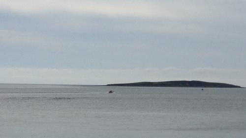 Ten people were in the boat when it capsized off the Great Saltee Islands