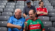 Rival fans in situ at Croke Park