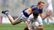 Kildare's Conor Hartley and Brian McGrath of Tipperary