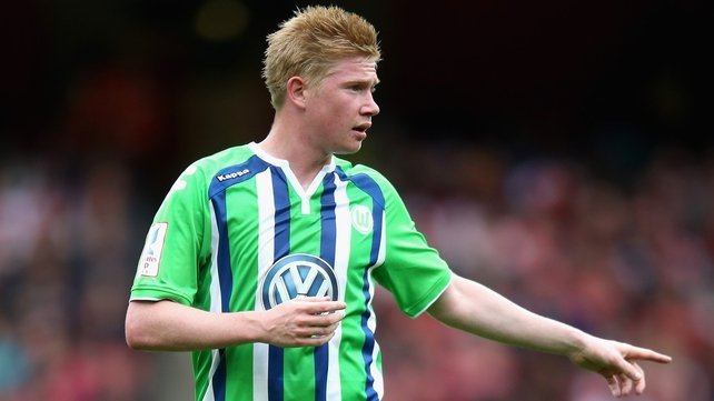 Kevin de Bruyne signs for Man City