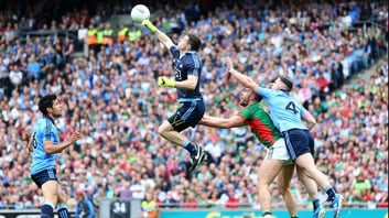 Stephen Cluxton punches clear