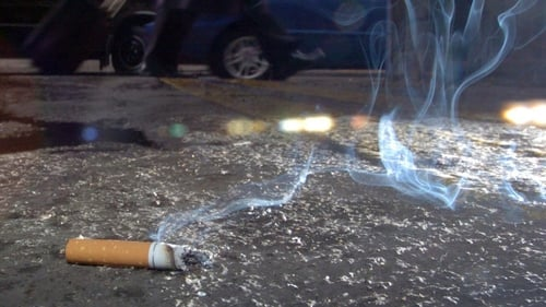 Cigarette butts, sweet papers and chewing gum most common forms of litter