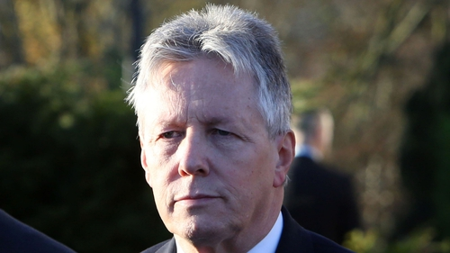 Peter Robinson has denied he was to receive any payment or benefit as a result of the NAMAdeal