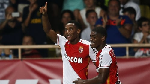 Anthony Martial (l) looks set to move to Manchester