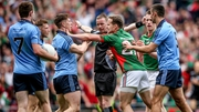 There's no love lost between Dublin and Mayo, who meet again no Saturday