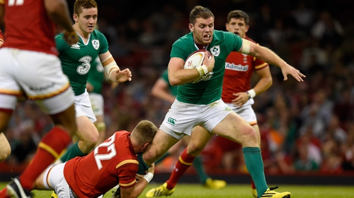 Darren Cave impressed against Wales in Ireland's first World Cup warm-up clash