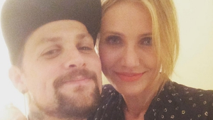Benji Madden and Cameron Diaz, image via Benji Madden/Instagram