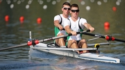 Shane O'Driscoll and Mark O'Donovan won the lightweight pair B final