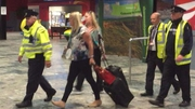 Aisling Brady McCarthy arrived on a flight to Shannon early this morning, and left the airport without comment
