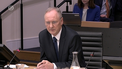 The inquiry was told Michael Walsh warned the Central Bank in 2007 about impending issues in the banking sector