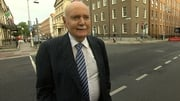 Former Irish Nationwide boss Michael Fingleton appeared before the banking inquiry today