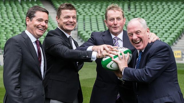 Politicians reaffirm support for Irish RWC bid