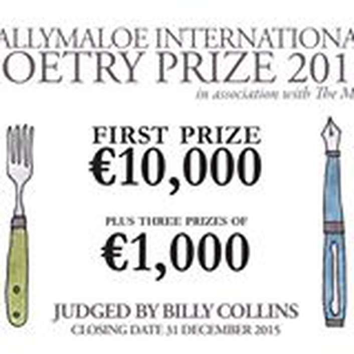 Billy Collins and the Ballymaloe International Poetry Prize