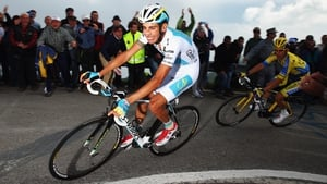 Fabio Aru now leads the Vuelta overall