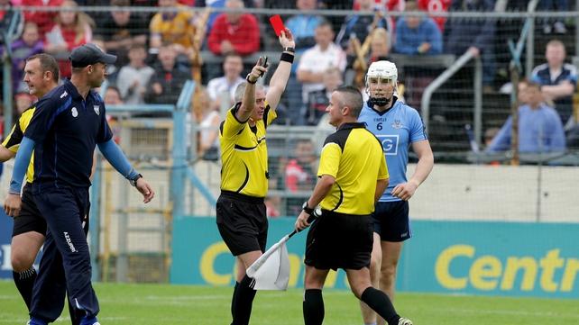 Dublin's Liam Rushe has suspension reduced