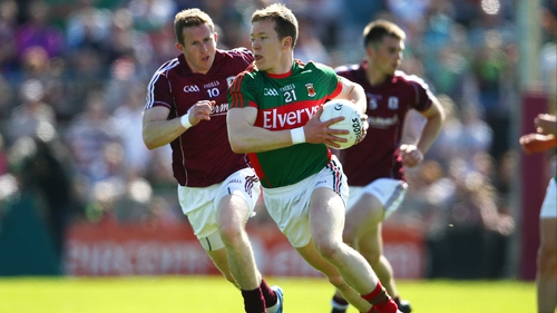 Donal Vaughan was replaced by Patrick Durkan in Sunday's semi-final