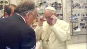 Pope Francis insisted his old frames be re-used and that he would pay for them