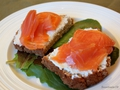 Neven's Recipes- Smoked Salmon and cream cheese