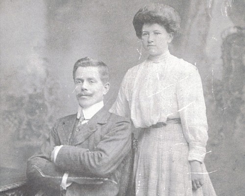 Tom McHugh and wife Mary