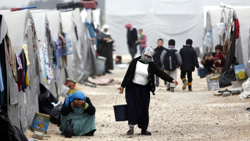 David Cameron has pledged to take more refugees currently housed in temporary camps to the UK