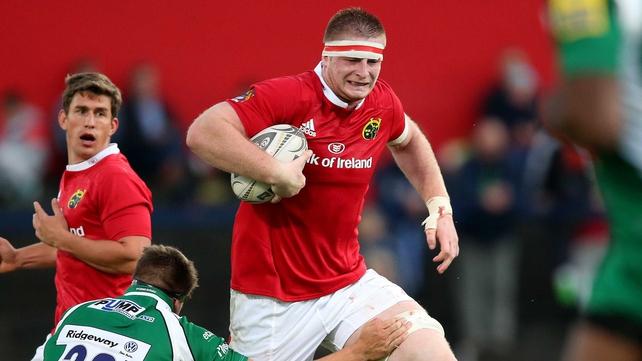 Pro12: Munster trio to make debuts